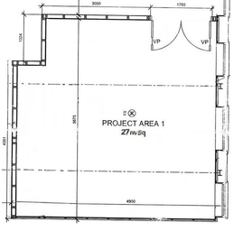 Front Project Space plan