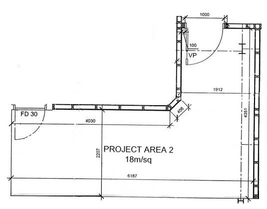 Back Project Space plan